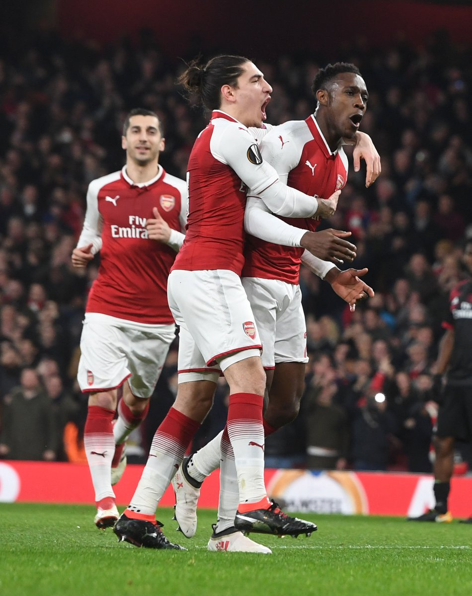 Arsenal vs AC Milan 3-1 Highlights