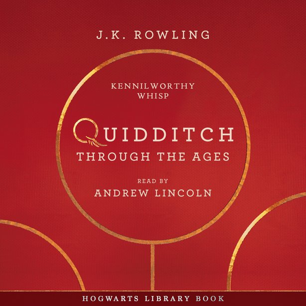 The new #QuidditchThroughTheAges audiobook has now been released on @audible_com! Listen to Andrew Lincoln narrate @jk_rowlings Hogwarts Library companion book, along with exclusive World Cup bonus content from @pottermore >> the-leaky-cauldron.org/2018/01/27/and…