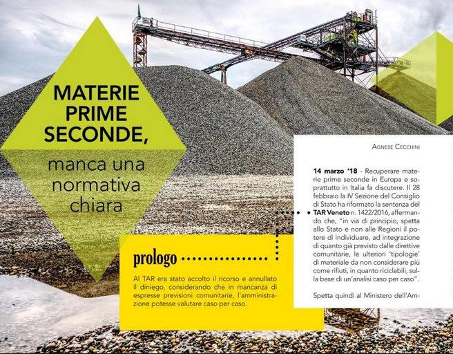 Materie prime seconde, manca una normativa chiara. Sul numero del #14marzo di #e7 @minambienteIT  http:// www.gruppoitaliaenergia.it/files/e7del20180314/html5/index.html  - Ukustom