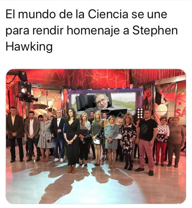 #StephenHawking  #FelizJueves https://t....