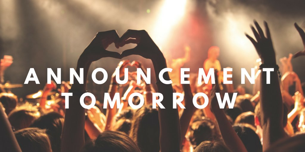 We have an exciting announcement for you all tomorrow! #SOM2018