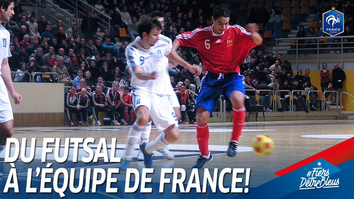 De lEquipe de France de Futsal à lEquipe de France A, le parcours de @WissBenYedder est unique ! 😍🇫🇷 #FiersdetreBleus