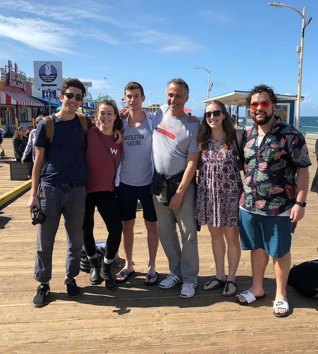 test Twitter Media - While vacationing in sunny LA during #springbreak, a few Cardinals spotted Pres @mroth78 on the Santa Monica Pier and at The Broad Museum! #RothOnTheMove #WesInTheWorld #WesInLA #WeMissTheSun 🌞 https://t.co/q99vXamz4v