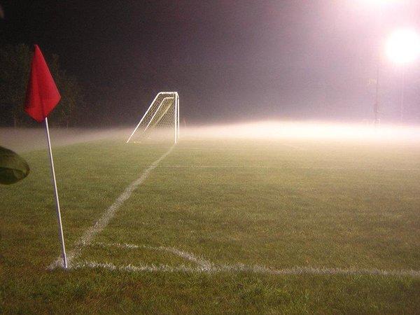Entrar a una cancha de fútbol y sentirse...