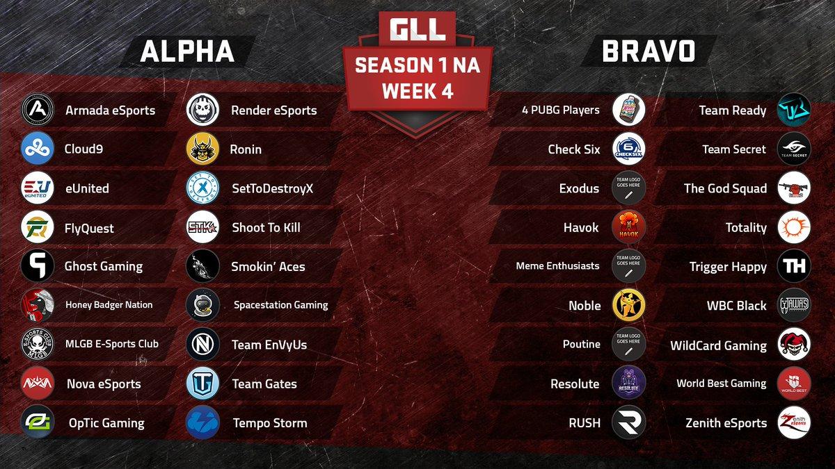 Next week's @GlobalLoot Alpha Division i...