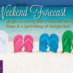 #WeekendForecast #sunny #sand #beachvacation #margaritas #vacationownership #timeshare #vacation #tropicalvacation #sun