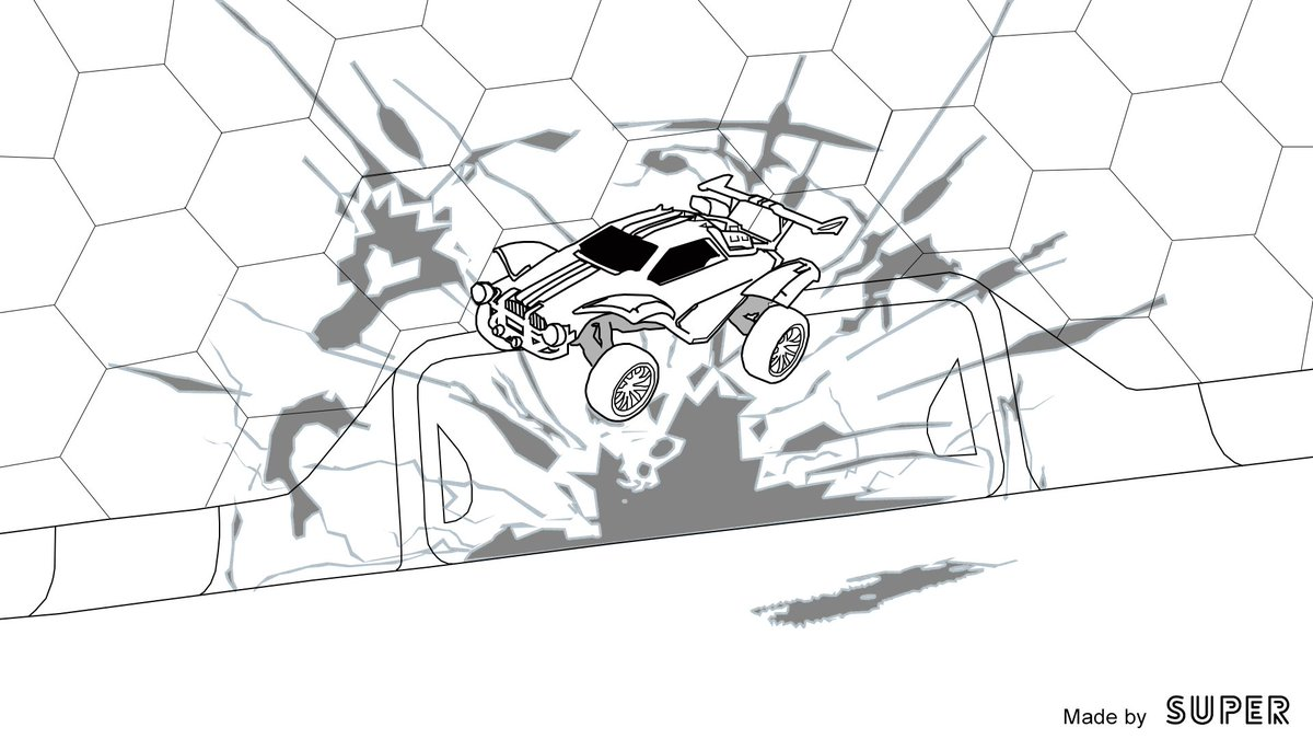 Rocket League Coloring Pages