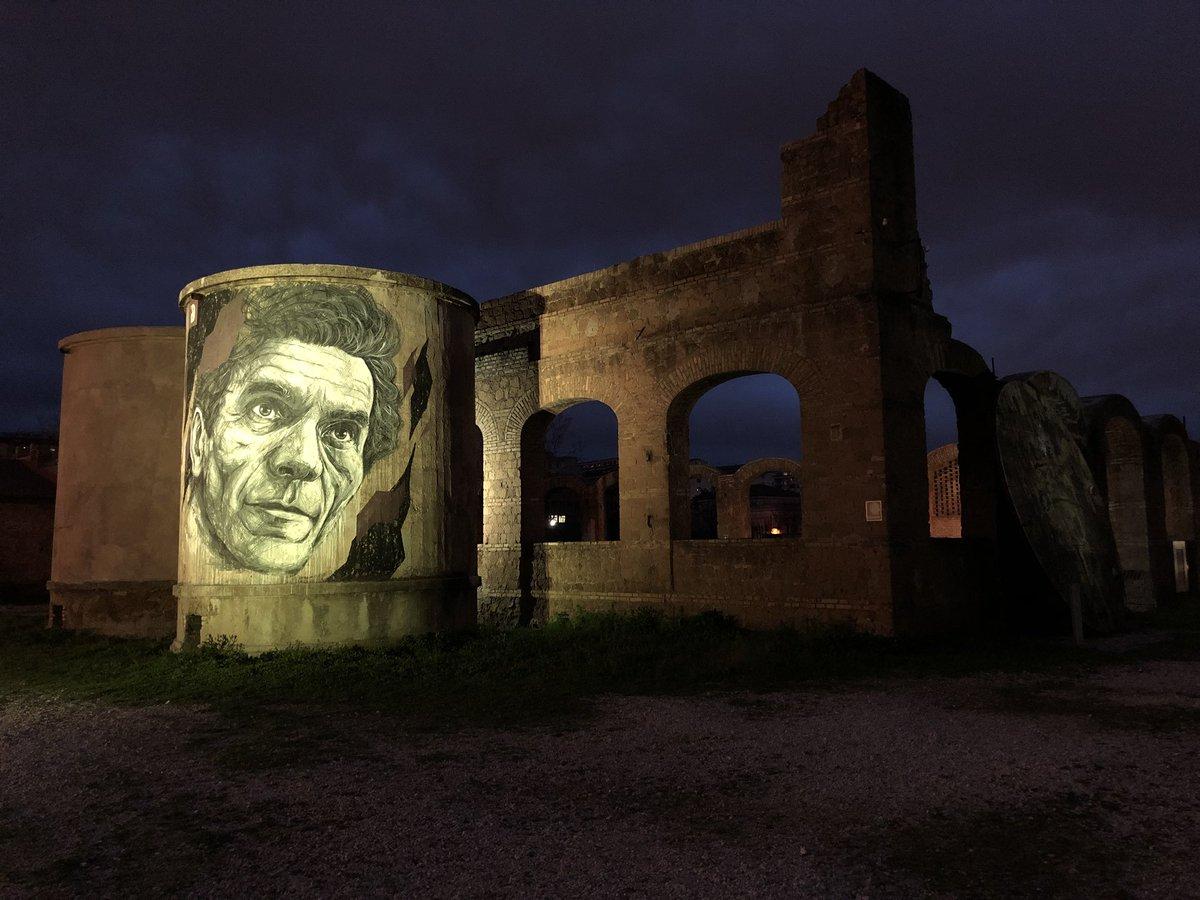 Archeologia industriale: Teatro India, complesso architettonico da alcuni capannoni un tempo sede degli stabilimenti dellindustria produttrice di saponi e solventi Mira Lanza @ffusco @clapas66 @AMB_SEBASTIANI @marco_asfalto @archivetro @sfnnicita @JPaul33267538 @Gianlucapica91