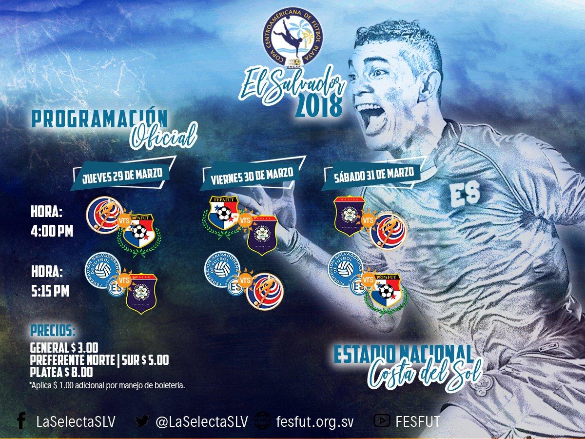Torneo UNCAF 2018. DYWSyk0WAAAPPaq