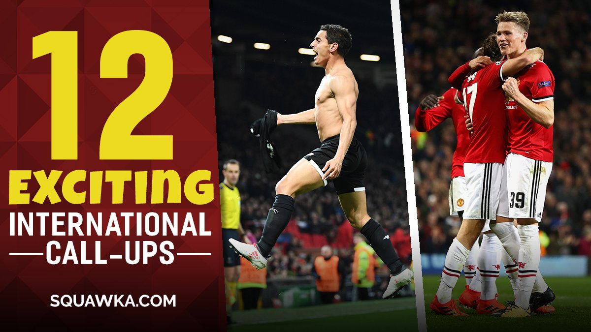 12 recently called-up players we cant wait to watch during the international break - sqwk.at/ExcitingCallUps  Argentina have a hat-trick hero in the ranks. 🎩