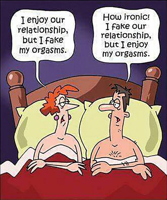 #comic #lolz #laughing #fakingit #orgasms #relationship #bedroom #thursdayvibes https://t.co/49Mq8rx