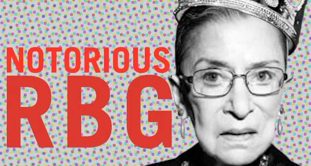 Happy Birthday to our other queen, #RBG...