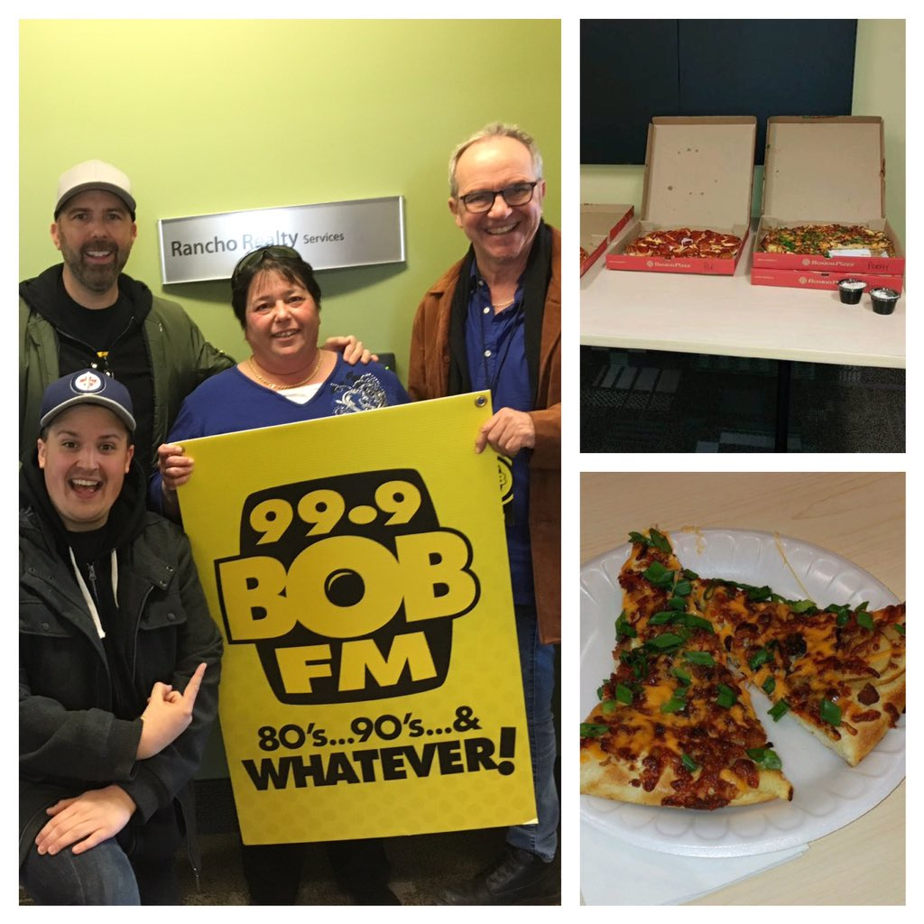 Lunch Next Week From BostonPizzaWPG Enter Now Iheartradioca 99 9 Bob Fm Contests On The Job 13639832 Pictwitter 34FzzdU9Qn