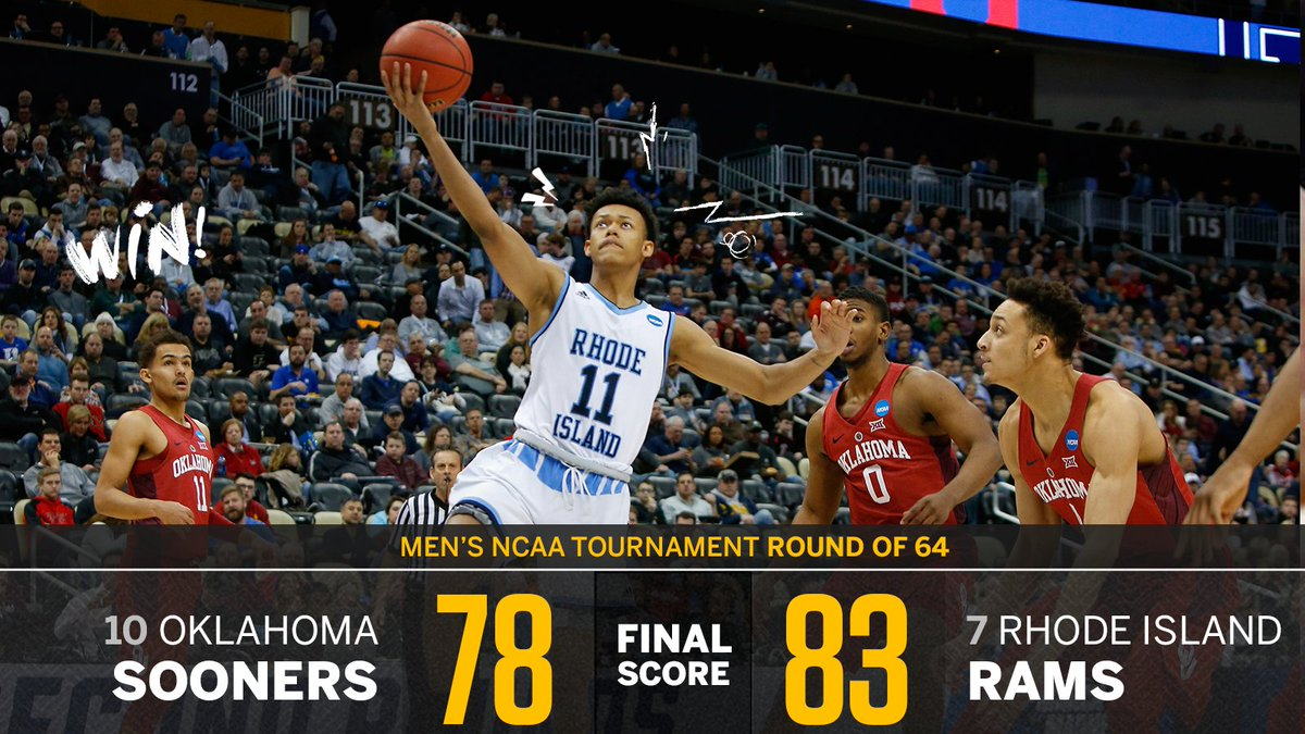 The Rams roll on!  Rhode Island takes do...