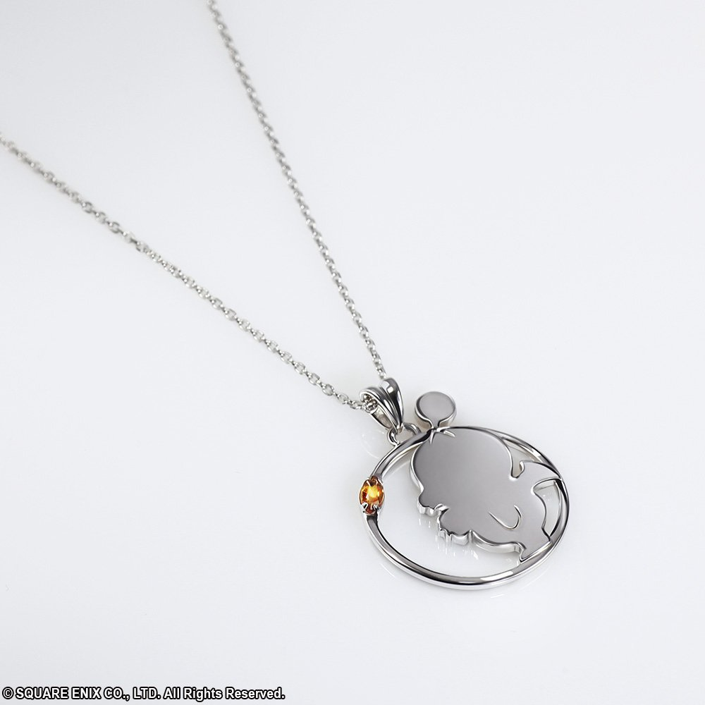 The @FinalFantasy Silver Pendant Moogle is now available for pre-order! This simple, gorgeous necklace, with its bright golden stone is an elegant accessory. Save 10% when you preorder by 3/25. goo.gl/y1WwV4  #jewelry #finalfantasy #moogle #silver #pendant #necklace