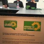 Die LAG Medien und Netzpolitik tagt mit der Frankfurter Fraktion im Römer. Es geht vor allem um das hessische Verfassungsschutzgesetz und die bevorstehende Landtagswahl. // @nutellaberliner @DerChC @kirsch_martin u.v.a.