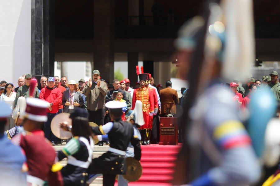 #NOTICIA Presidente @NicolasMaduro: Chávez es más futuro que pasado https://t.co/Gp2EwztHo8 https://t.co/sc9QvLXDZq