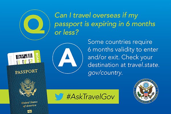 Can I Travel On The Day My Passport Expires