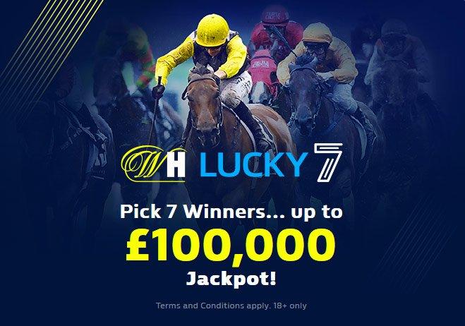 Play Lucky 7 - win £100k Jackpot!