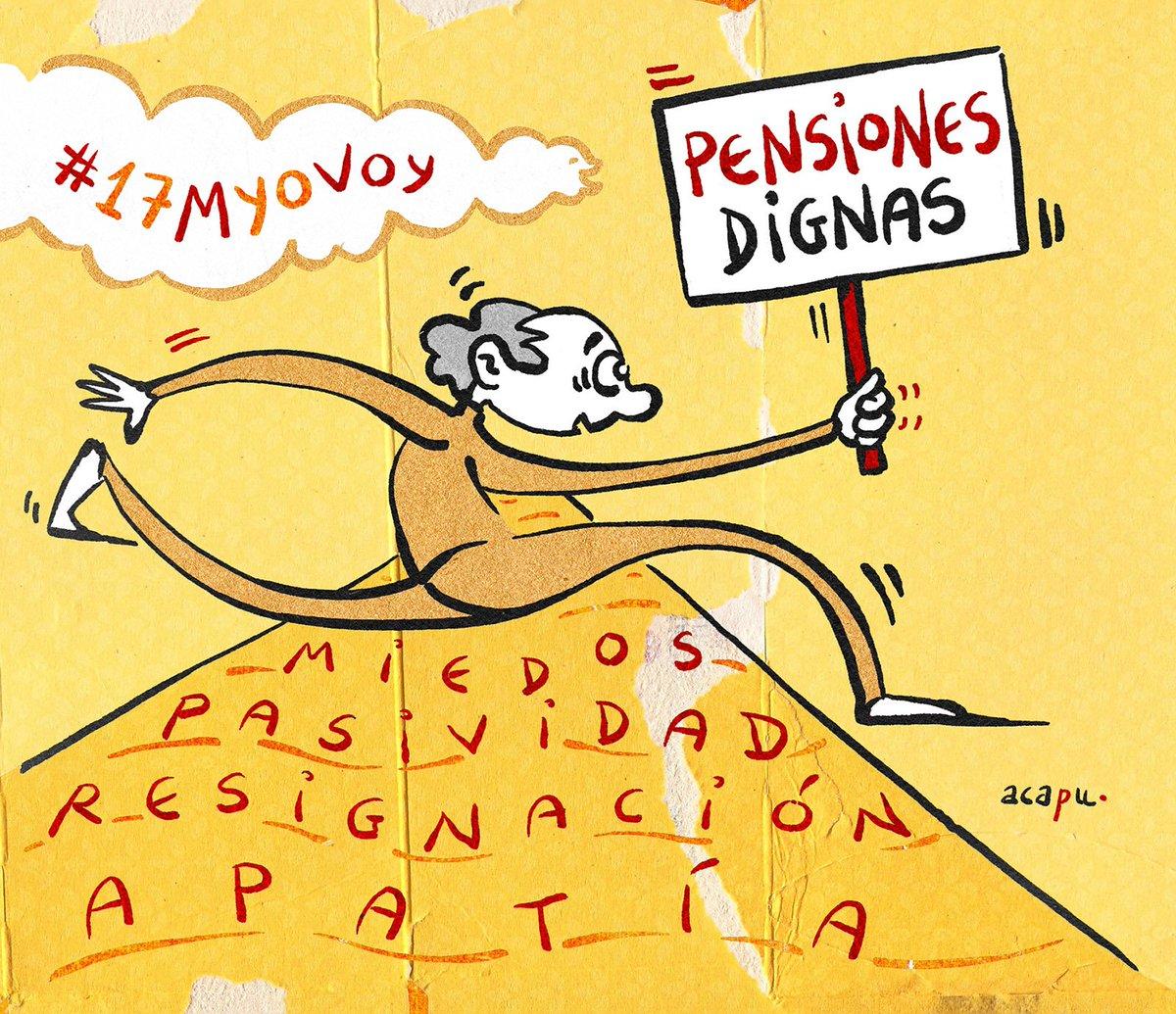 #17MarzoYoVoy #17MYoVoy #17Marzo #PensionesDignas