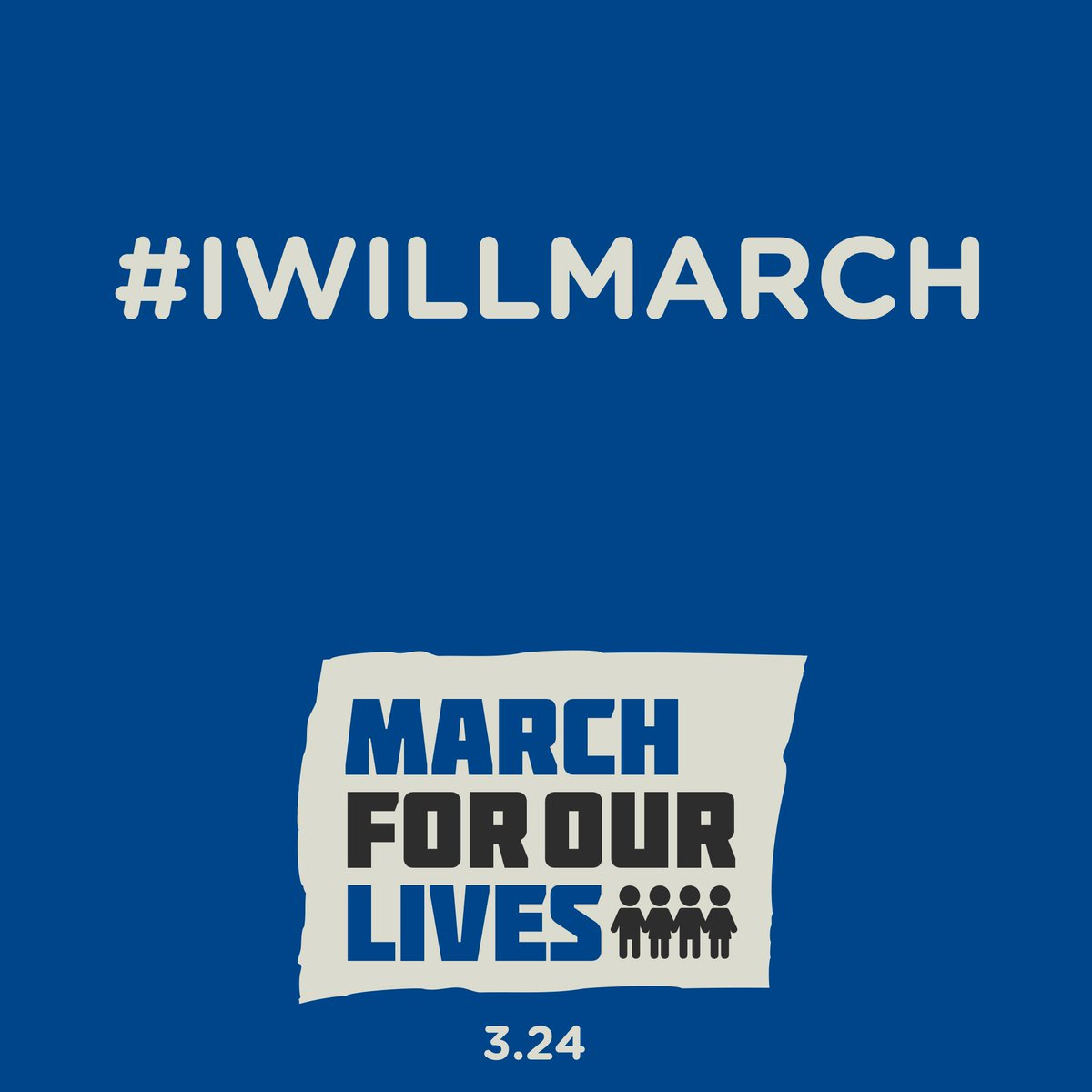 Full support and love! #IWillMarch  RSVP to march here:
