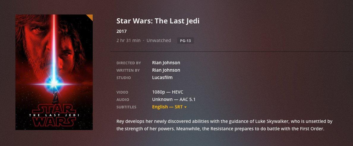 Star Wars Hevc
