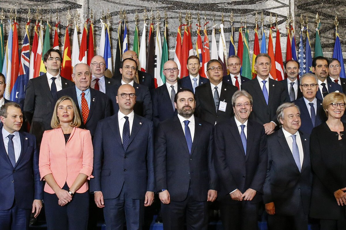 #Rome4Lebanon #BuildingTrust: Read the Joint #Statement following the Ministerial Meeting on the support to the Lebanese Security Forces➡bit.ly/2DvQZ9D