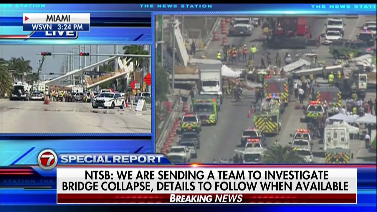 .@NTSB: We are sending a team to investigate bridge collapse, details to follow when available. https://t.co/Fo2wjSK78G
