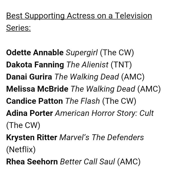 Candice Patton was nominated to the Saturn Awards as Best Supporting Actress on a Television Series #TheFlash #RunIrisRun