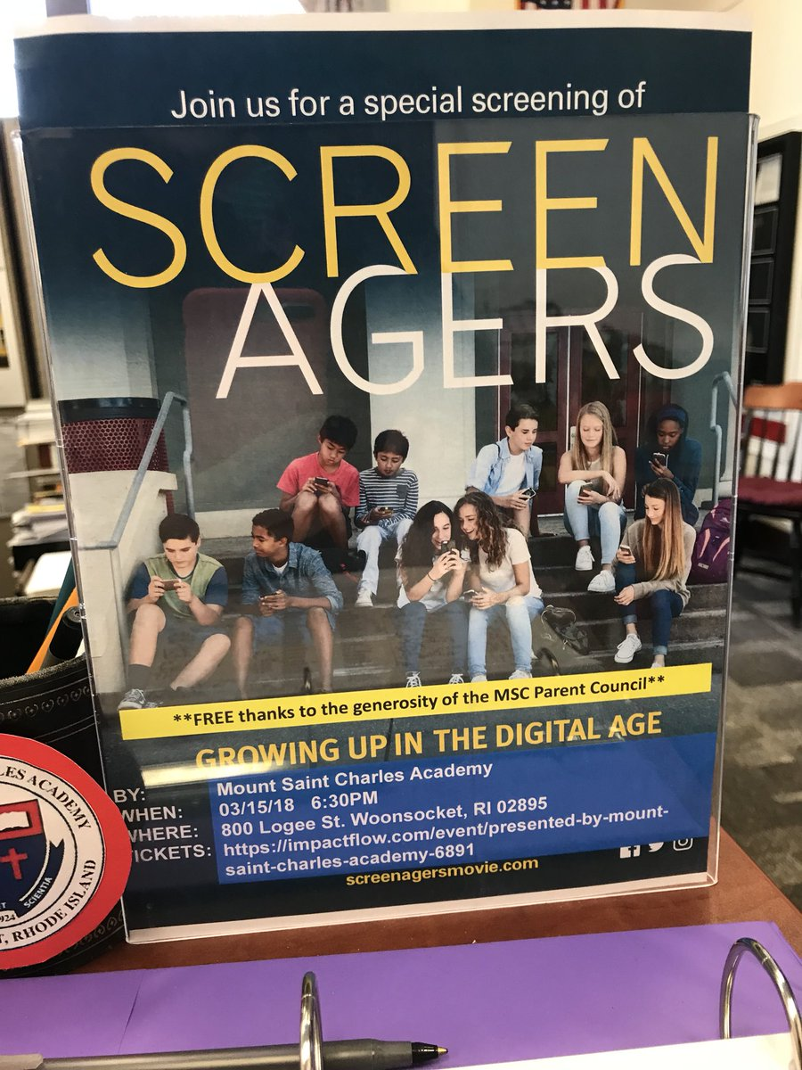 Barrington Books On Twitter Proud To Be The Bookstore Partner MtStCharles Screenagers Event Tonight So Many Important Reads Topic Of Growing Up