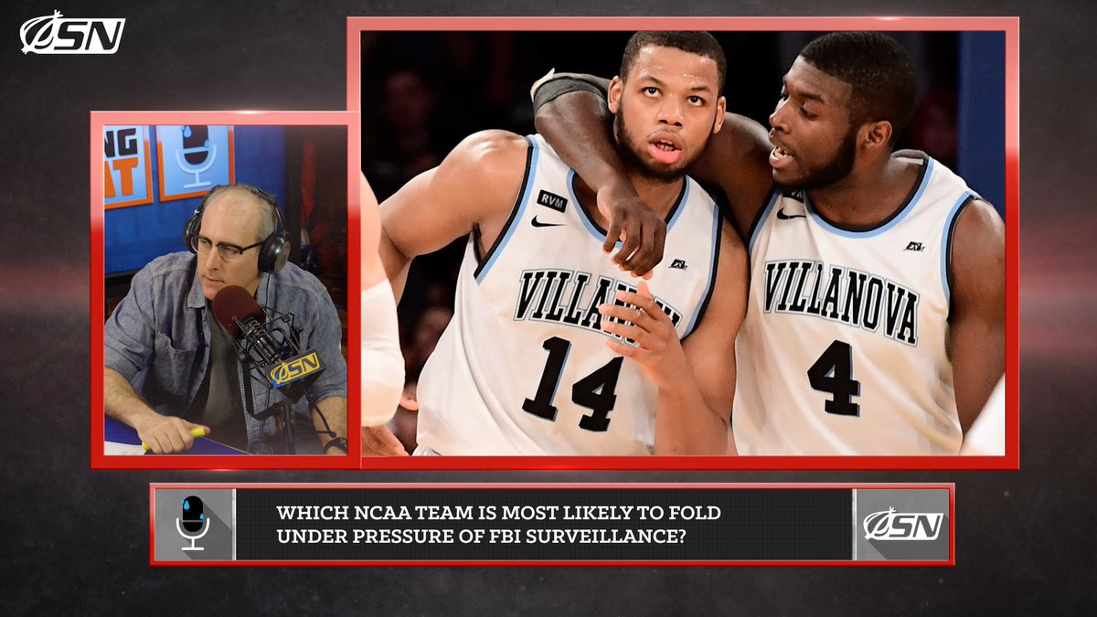 Which NCAA Tournament Team Will Struggle Most With The Pressure Of Playing Under FBI Surveillance?