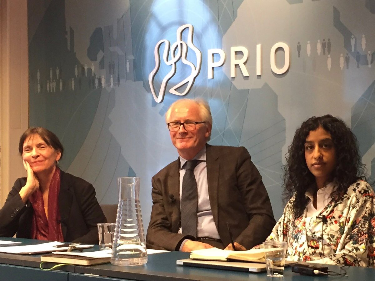 Afghanistan Week in Oslo: chairing panel w Patricia Gossman (Human Rights Watch) & Dipali Mukhopadhyay (Columbia Univ.) on «Warlords and Governance: Accommodation versus Justice?» But most important question: Is a new generation of leaders emerging? What will be their outlook?