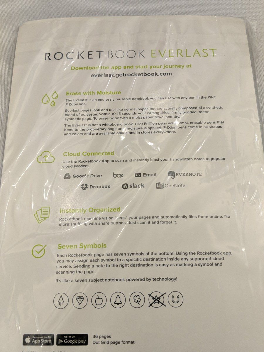 #WWKO Thanks @VMware for the Solution Workshop prize: a new @getRocketbook ! #Nowisourtime