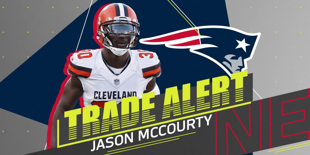 �� TRADE ALERT! ��  Jason McCourty is joining his twin brother in New England: https://t.co/07jccXiLo2 https://t.co/WBpu9eLE7j