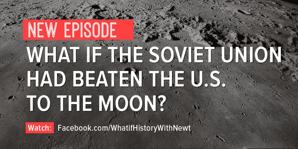 What if the USSR had beaten the US to the Moon? Watch the latest episode of my What If? History @facebook show to find out: https://t.co/niGEaQa4IK