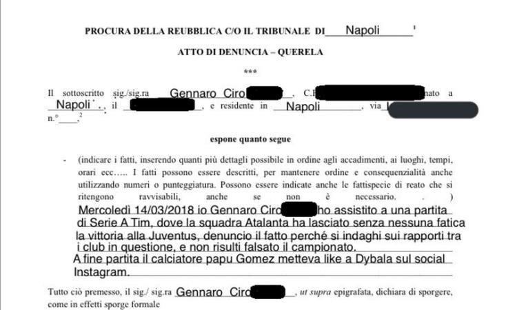 #Napoli, un tifoso denuncia: \