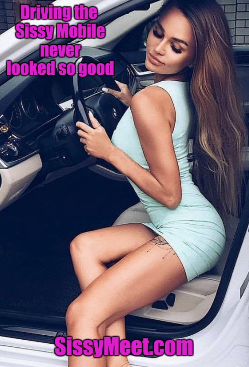 Sissymeet On Twitter Driving The Sissy Mobile Never Looked So Good Date A Sissy Or Mistress At Https T Co J3bih5ritx Sissy Sissycaptions