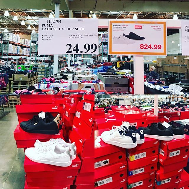 691abc10f76 In store and online!  costcodeals  costco women s are bottom left and men s  on bottom right! Available nationwide  puma  pumashoes  http   ift.tt 2FN9uZa ...