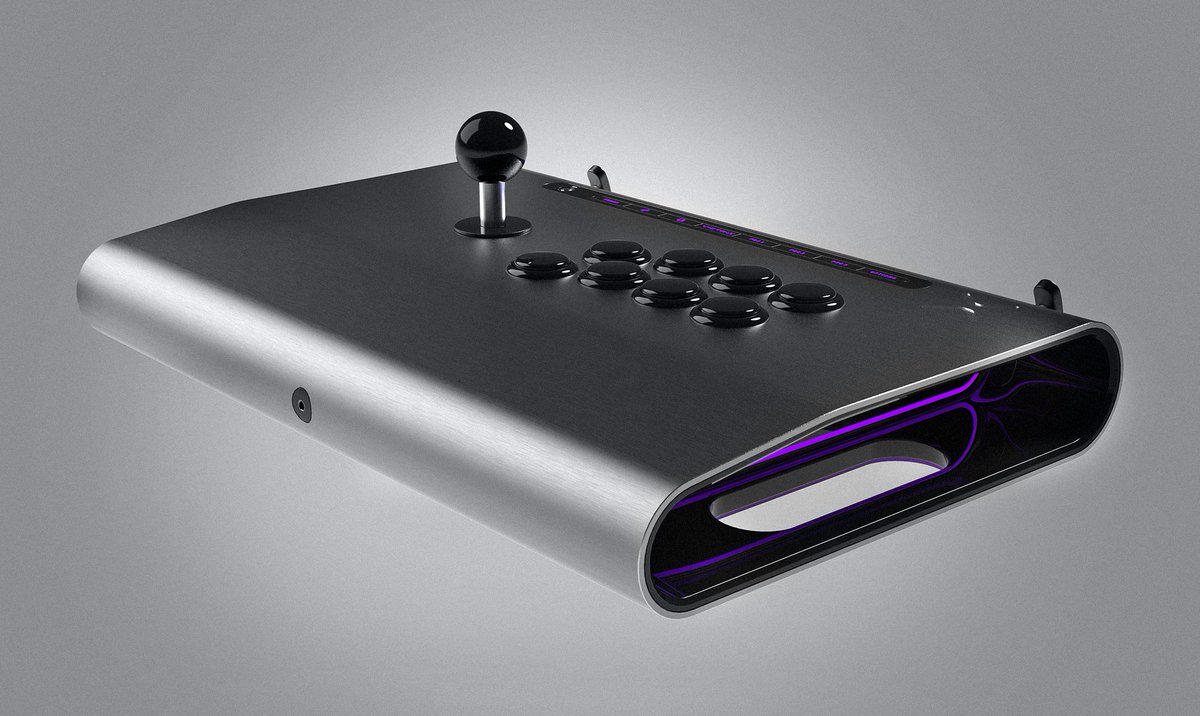 Amazing piece of work Wow! Thank you @RollingStone we were saving that for later but since today were all about fighting games... Introducing Victrix #ProFS : our newest weapon designed for the top fighting game pros and FGC perfectionists. rollingstone.com/glixel/news/vi…