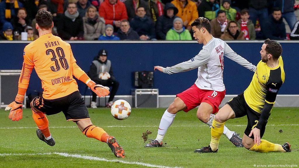 Salzburg vs Borussia Dortmund: