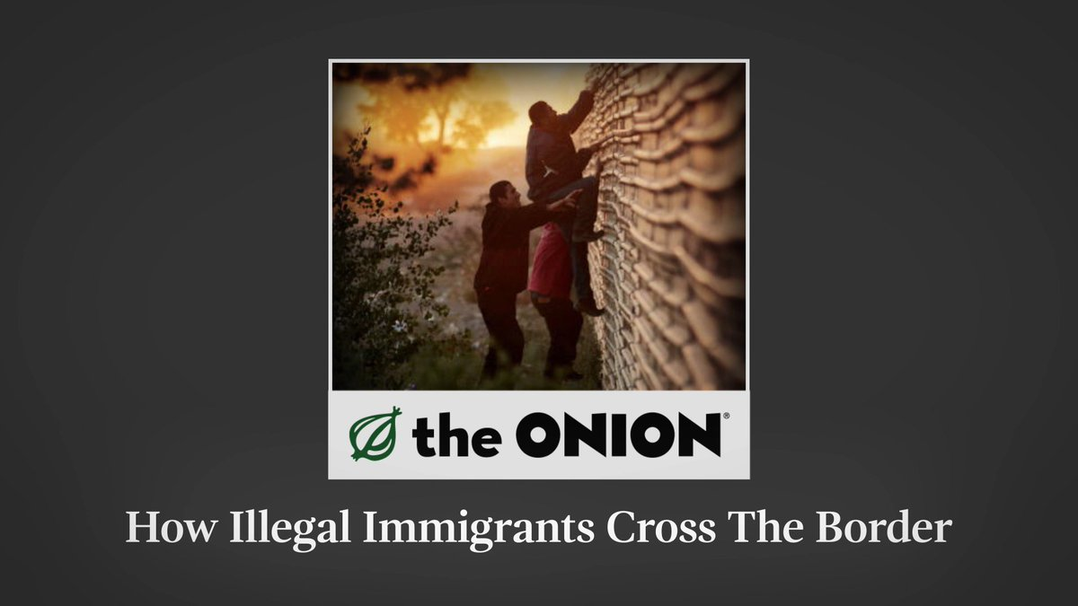How Illegal Immigrants Cross The Border