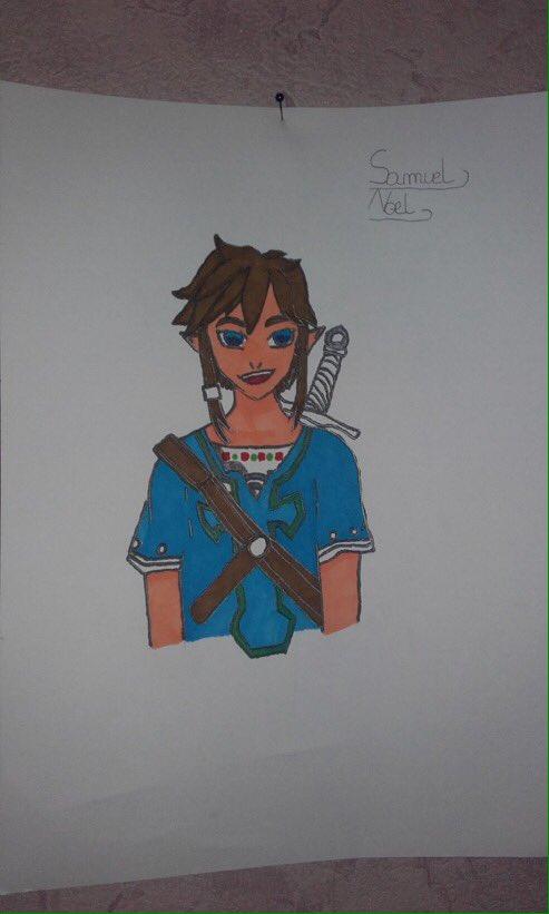 Ipove On Twitter Fan Art De Link De Zelda Botw Sa Date Bientot