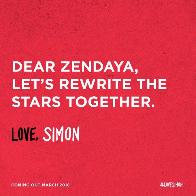 #LoveSimon twitter.