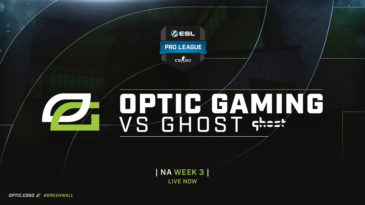 Here we go! It's game time, #OpTicCSGO v...