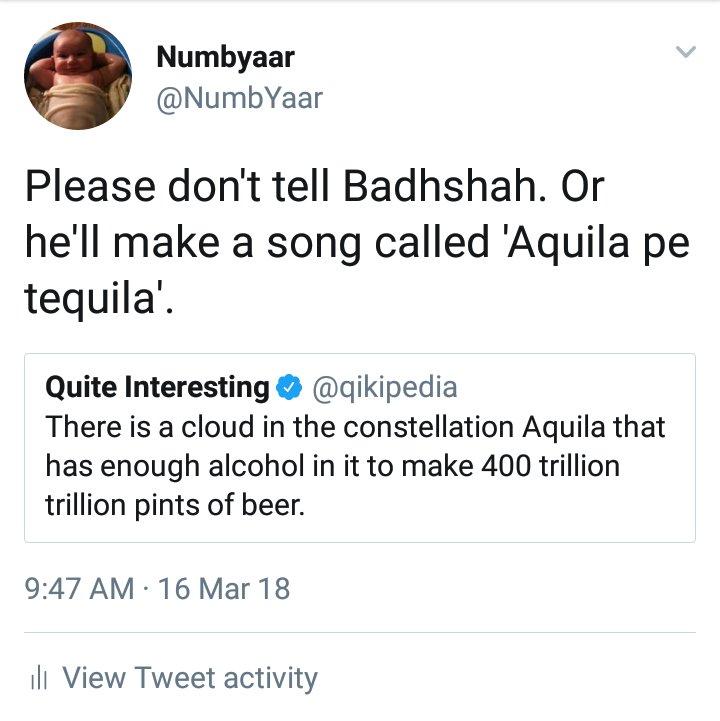 Numbyaar top tweets