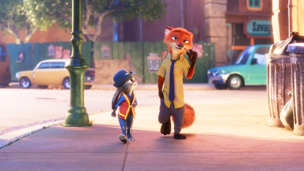 Watched #Zootopia for 1st time tonight....