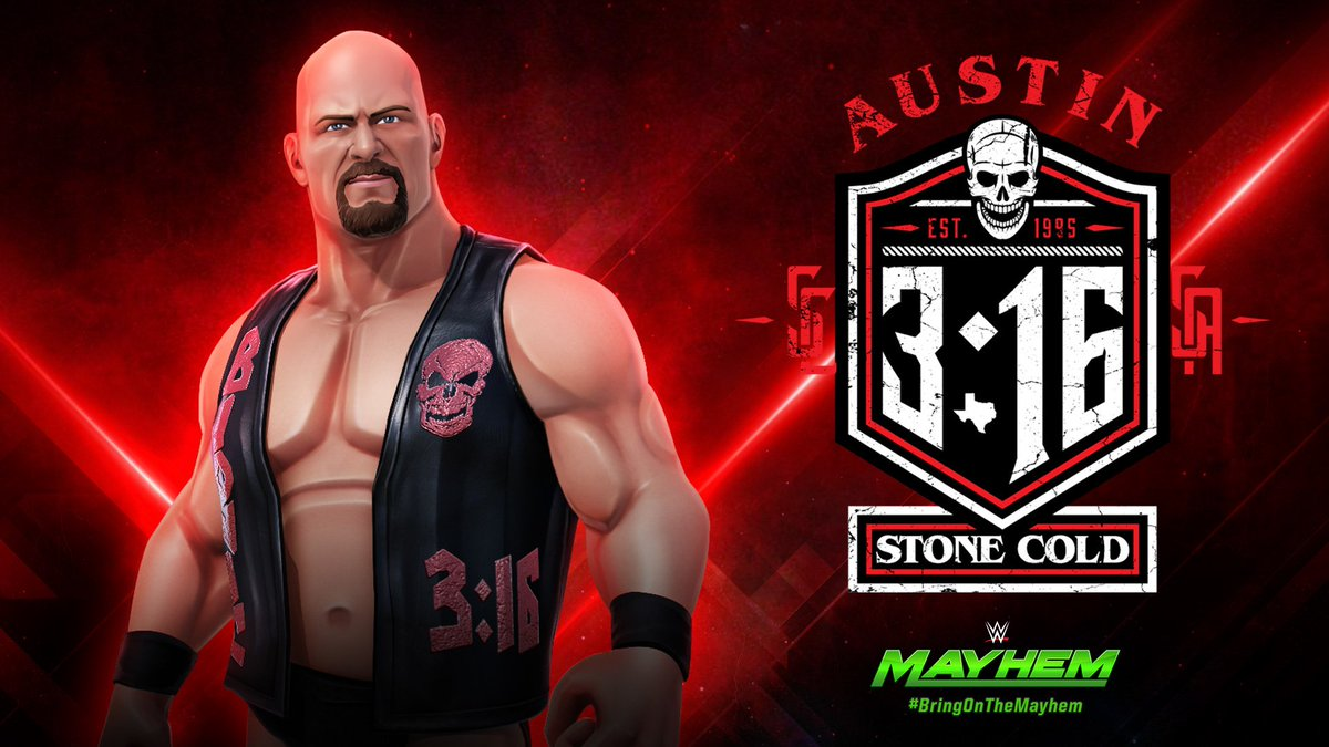 Share Your Favorite Moments Of The WWEMayhem Superstar Stone Cold Steve Austin And Thats Bottom Line Cause Said So