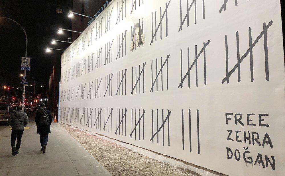 New Banksy mural speaks out against Turk...