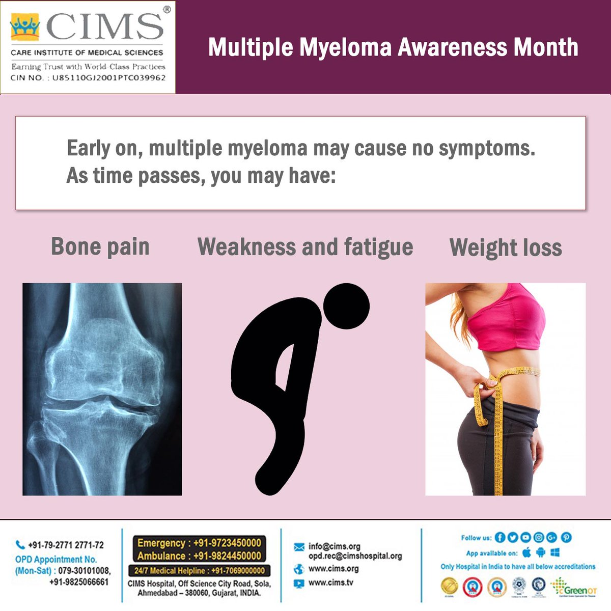 Cims Cancer Center On Twitter Multiple Myeloma Awareness Month