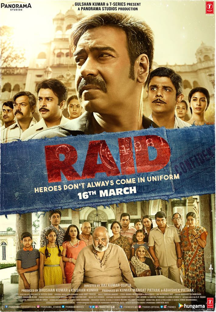 Raid (2018) Movie Review, Story and Movie Cast